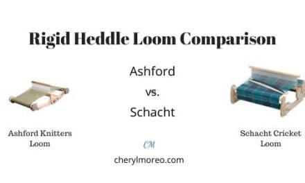 Rigid Heddle Loom Comparison-Ashford and Schacht