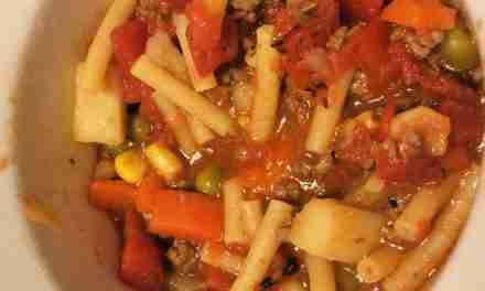Pasta Fazool (Pasta e Fagioli) with Taco Meat or Not