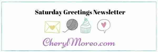 saturday greeting newsletter