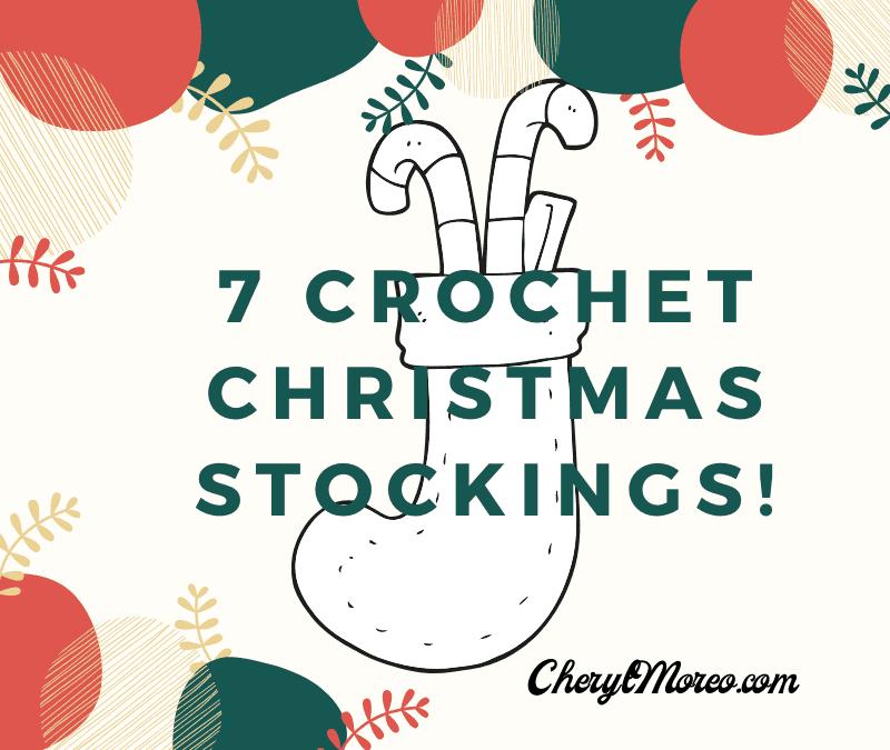 7 Crochet Christmas Stockings