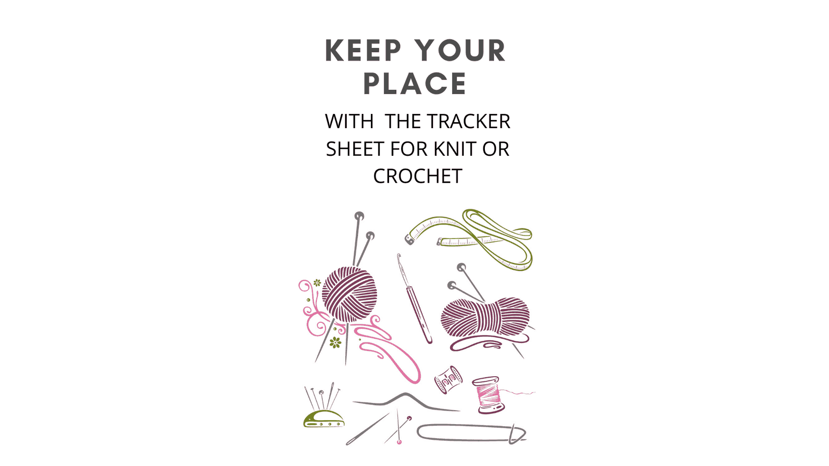 tracker sheet promo