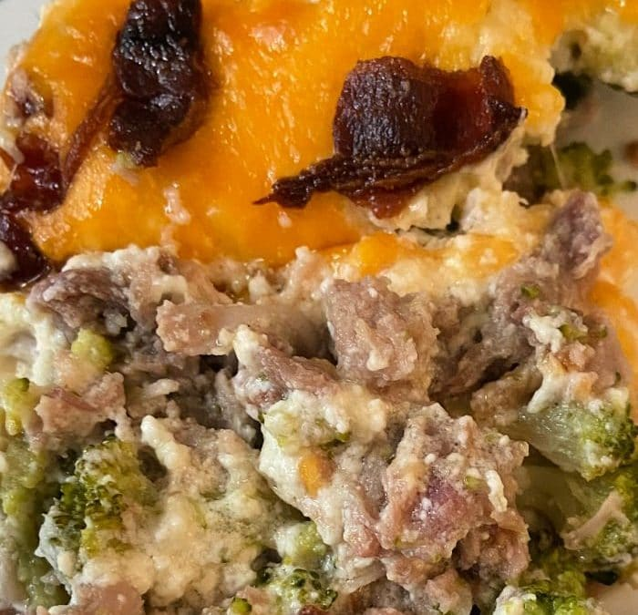 Pork and Broccoli Casserole – Keto-Friendly