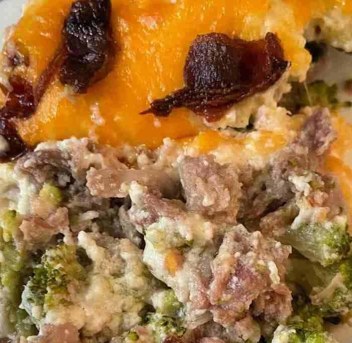 Pork & Broccoli Casserole