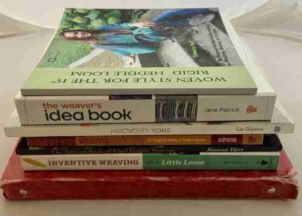 rigid heddle weaving books