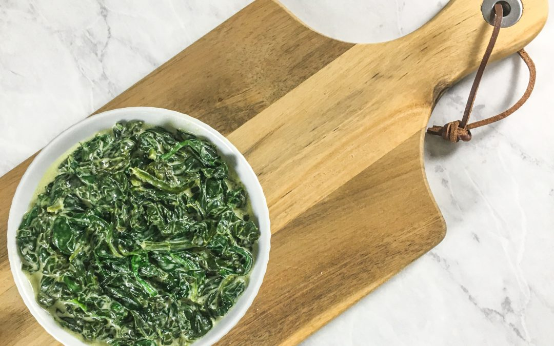Creamed Spinach – Keto-Friendly