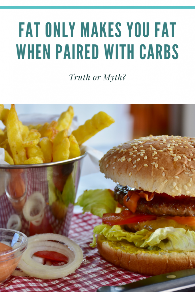 Fat Only Makes You Fat When Paired With Carbs
