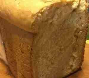 Sandwich Bread 1 1/2 to 2 Pound Loaf